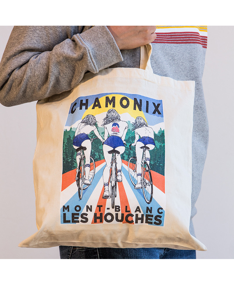 Tote Bag  Chamonix Summer
